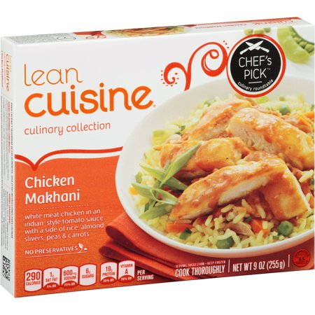 Lean cuisine meal chicken makhani for Are lean cuisine meals healthy