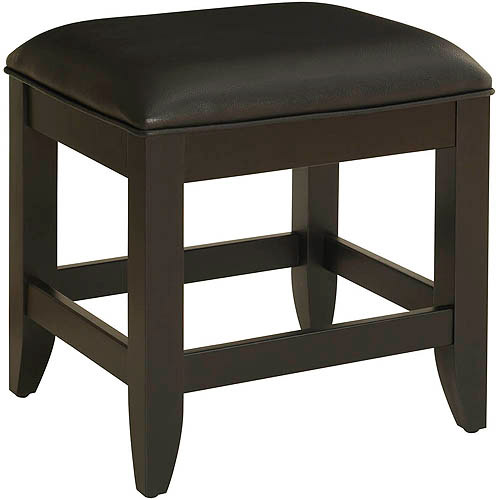Home Styles Bedford Vanity Bench, Black by Generic