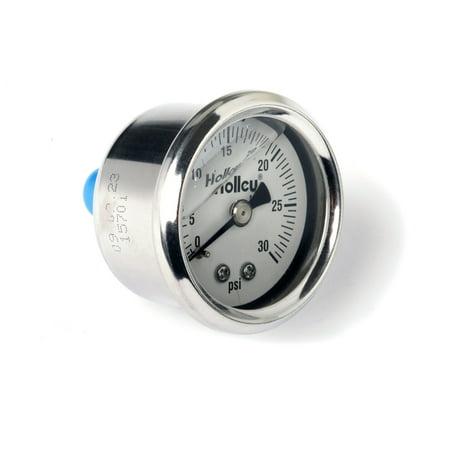 Holley Performance 26-505 Fuel Pressure Gauge Holley Fuel Pressure Gauge