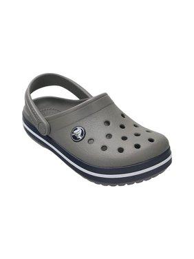 58e44a5f0e09 Product Image Crocs Boy s Crocband Smoke Navy Ankle-High Flat Shoe - 2M