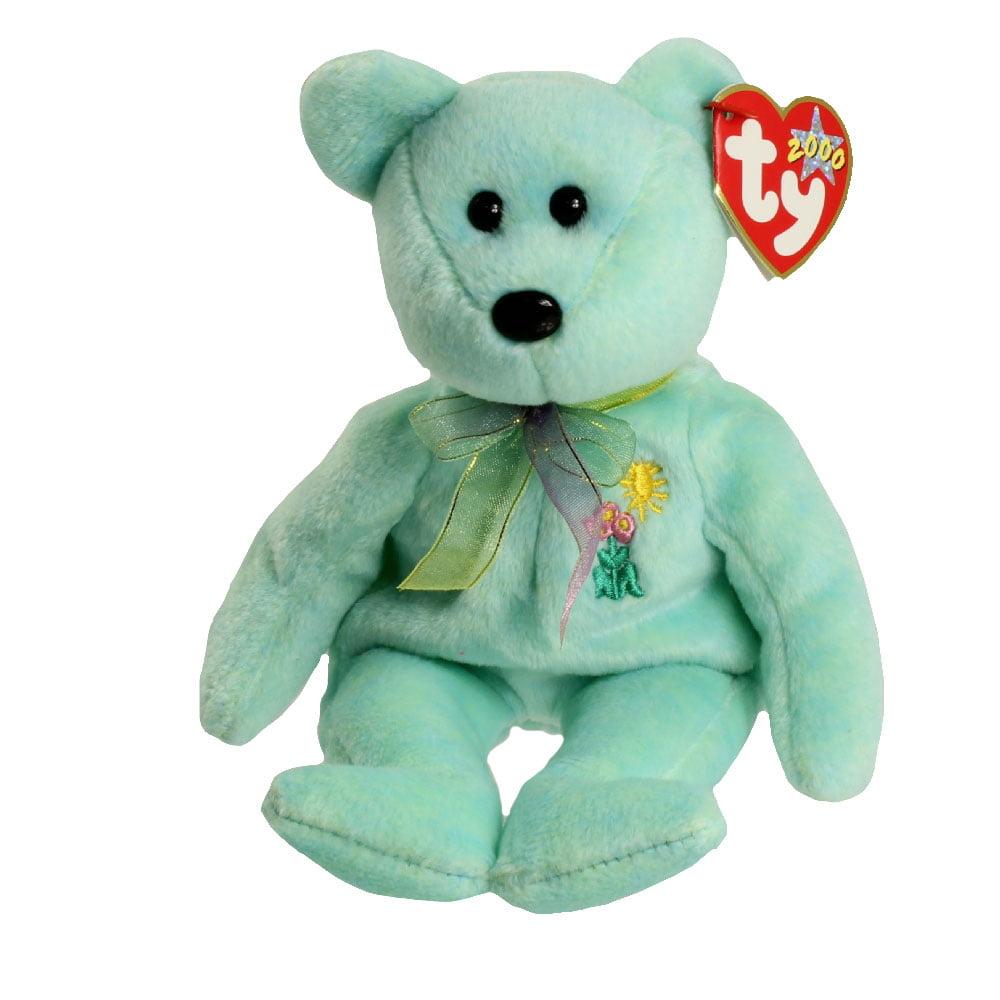 TY Beanie Baby - ARIEL the Bear (8.5 inch)
