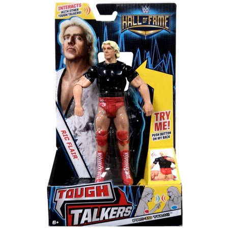 WWE Wrestling Tough Talkers Ric Flair Action Figure](Ric Flair Robe)