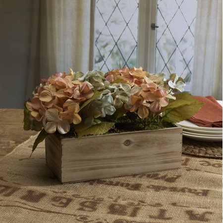 - Elements 10in Fall Floral Mdf Centerpiece
