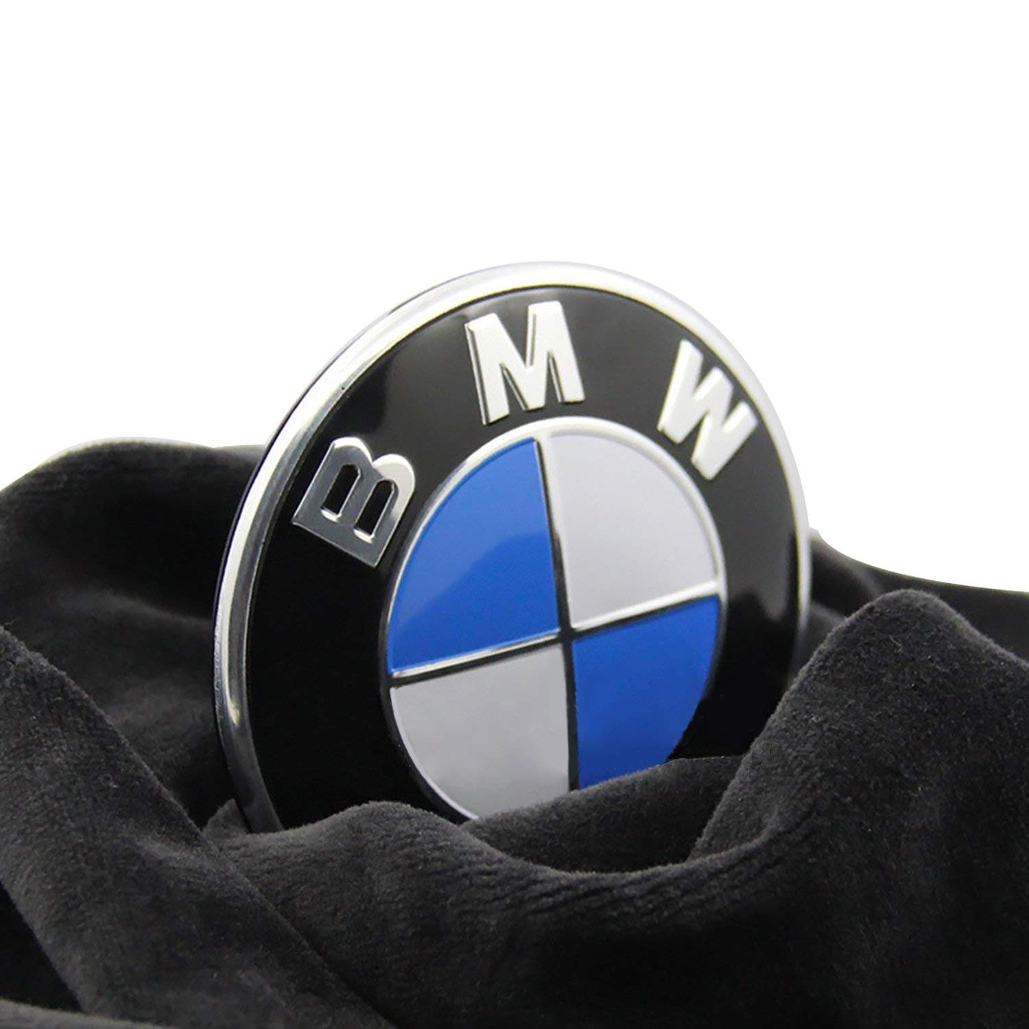 Pw Bmw Emblem Logo Replacement For Hood Trunk 82mm For All