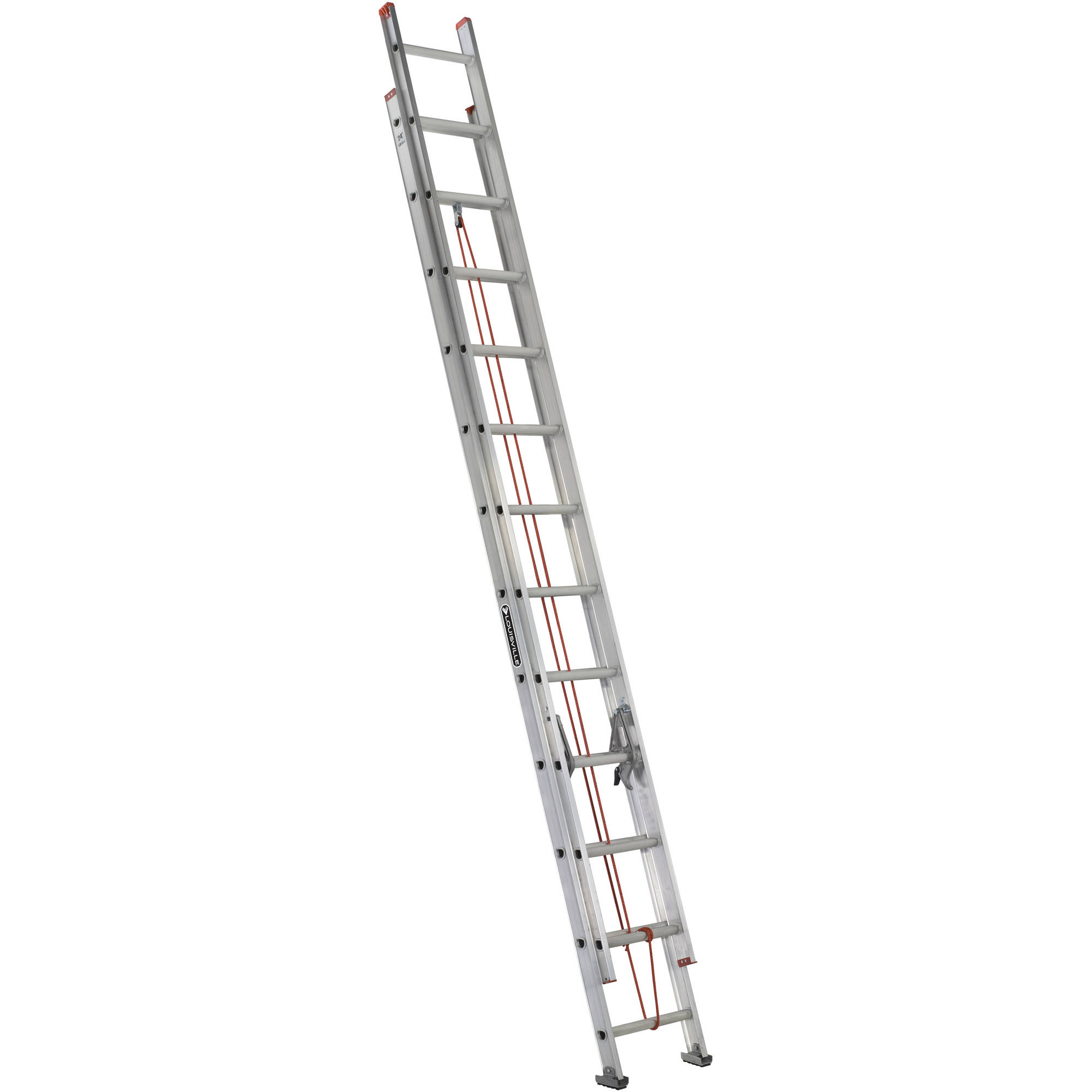 Louisville Ladder L-2324-24 24 ft. Aluminum Extension Ladder, Type III, 200 Lbs Load Capacity