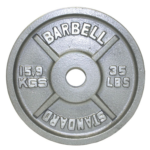 USA Sports by Troy Barbell 35 lb. Olympic Plate
