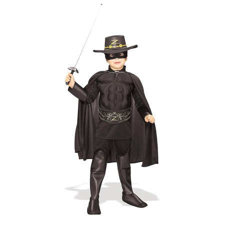 Child Deluxe Zorro Costume Rubies 882311 - Zorro Dress