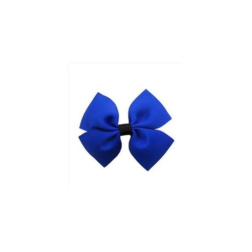 CoverYourHair 60613 Blue Cool Two Color Bow Hair Clip