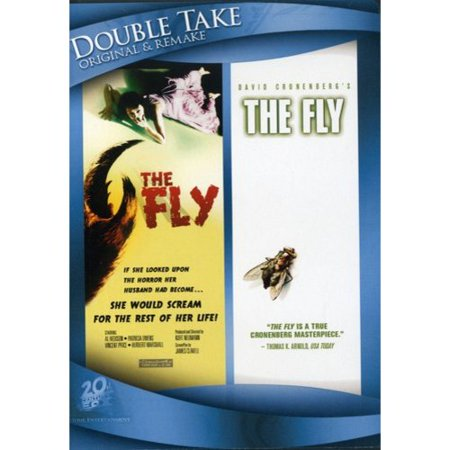 Double Take: Original & Remake - The Fly (1958) / The Fly (1983) - Halloween Movie Remake Cast