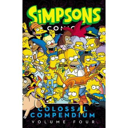 Simpsons Comics Colossal Compendium, Volume (Fantastic Four Comic Issue)