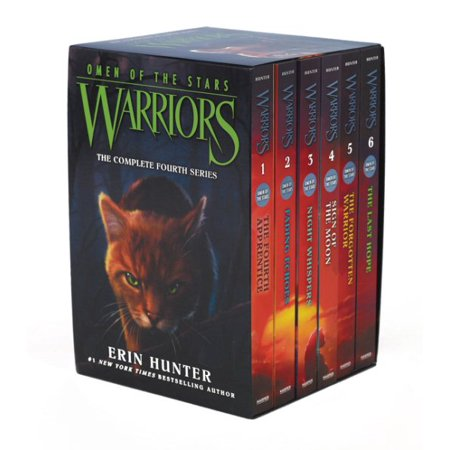 Warriors  Omen Of The Stars Box Set  Volumes 1 To 6