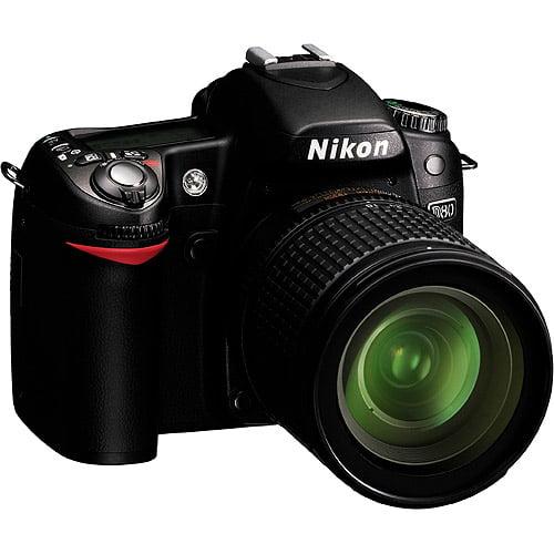 Nikon d80 10.2mp digital slr camera kit with 18-135mm af-...