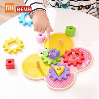 Xiaomi BEVA Kids Building Blocks DIY Educational Toy Gear Blocks Early Educational Toys For Smart Home Gifts for Kids 11pcs