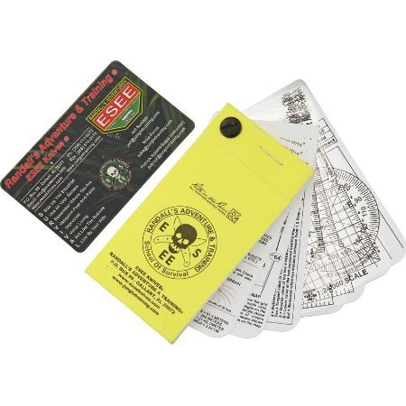 ESEE Pocket Navigation/Survival Cards with Rite In Rain Notepad