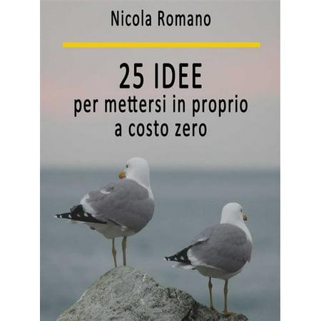 25 idee per mettersi in proprio a costo zero - eBook