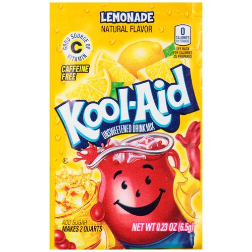 Kool-Aid Lemonade Unsweetened Drink Mix, 0.23 oz