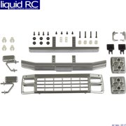 Associated 41081 CR12 Ford F150 Grill & Accessories Set satin chrome