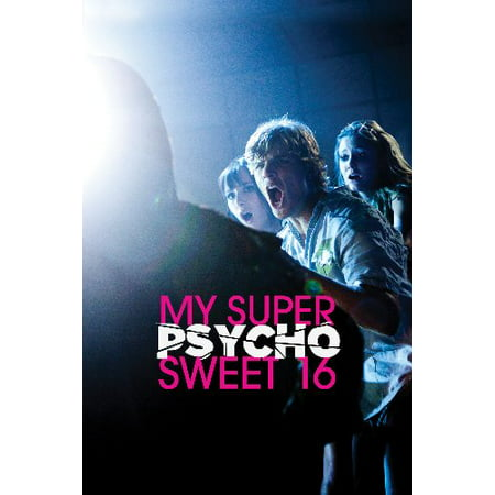 My Super Psycho Sweet 16 Movie poster Metal Sign 8inx