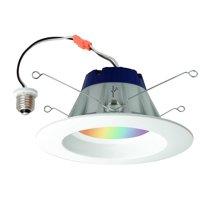 "Sylvania SMART+ Retrofitted 5-6"" Smart Light Bulb, Color LED, 1-Pack"