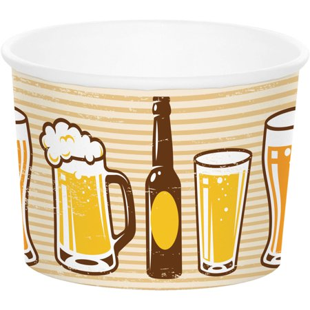 Cheers   Beers Treat Cups  6 Pack