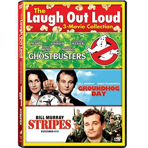 The Laugh Out Loud 3-Movie Collection: Ghostbusters / Groundhog Day / Stripes (With INSTAWATCH)