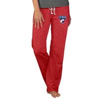 FC Dallas Concepts Sport Women's Quest Knit Pants - Red
