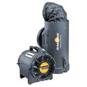RAMFAN EF7015 Conf.Sp. Fan,Ax. Ex-Prf,8 In,1/3 HP,115V