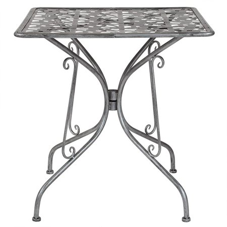 27.5SQ Silver Patio Table - image 2 of 2