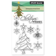 """Penny Black Clear Stamps, 3"""" x 4"""", Ornamentation"""