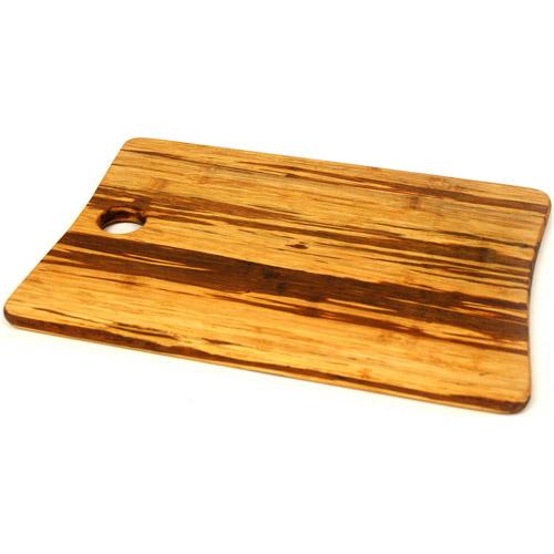 TruBamboo Crushed Bamboo Cutting Board in Dark & Light Mix