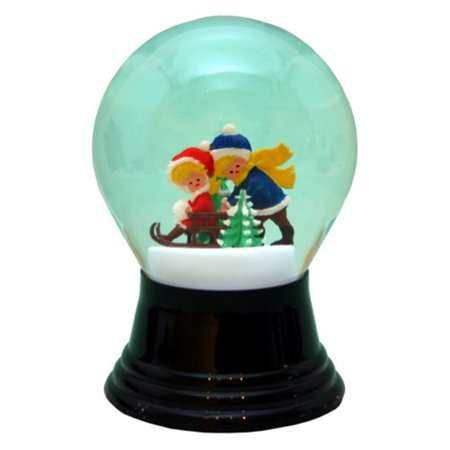 Perzy 5 in. Sledders Snow Globe - Halloween Snow Globe Song
