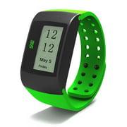 Green Wrist Activity Sleep Tracker Calorie Burned Watch Silent Alarm USB Fit