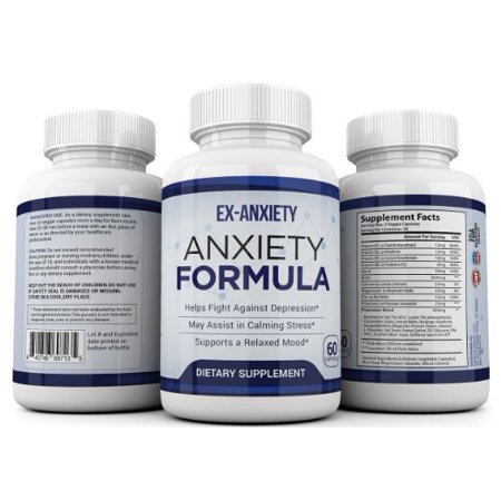 Optimal Effects Natural Anxiety Relief and Stress Support Supplement - 60 Veggie