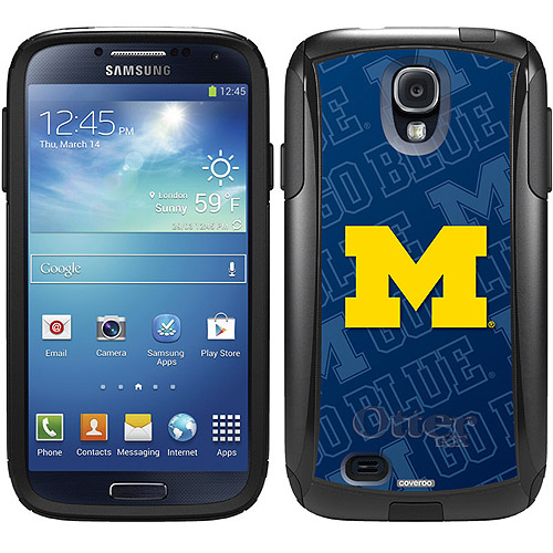 Michigan Watermark Design on OtterBox Commuter Series Case for Samsung Galaxy S4