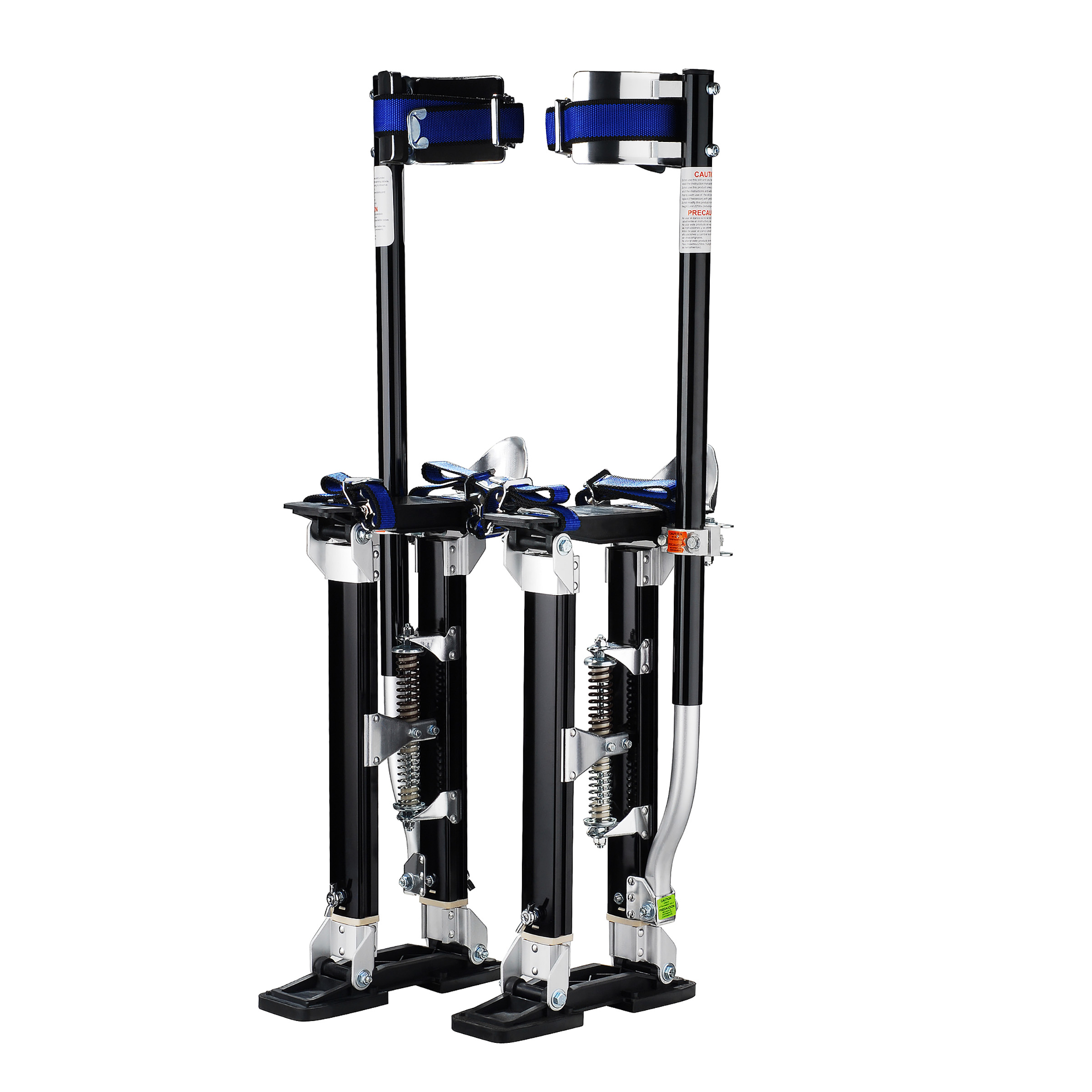 """Pentagon Tool """"Tall Guyz"""" Professional 18""""-30"""" Black Drywall Stilts For Sheetrock Painting or Cleaning"""