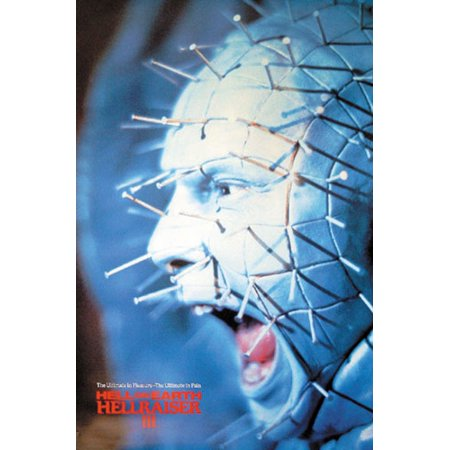 Hellraiser III - Movie Poster / Print (Pinhead Screaming) (Size: 27