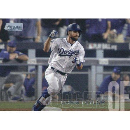 2018 Topps Stadium Club #142 Chris Taylor Los Angeles Dodgers Baseball Card - *GOTBASEBALLCARDS](Halloween Events Club Los Angeles)