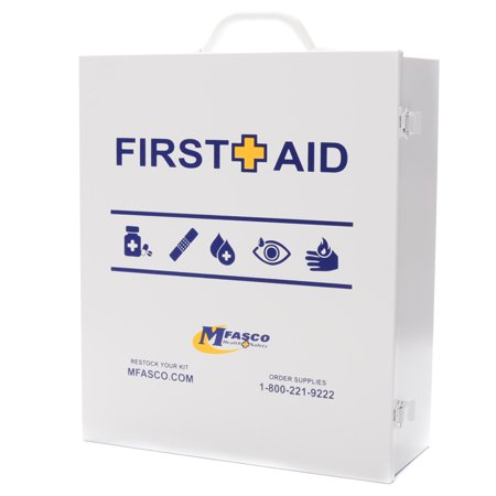 Empty First Aid Kit Metal 3 shelf With First Aid