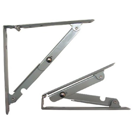 Folding Shelf Bracket (HD SP179416 Folding Shelf Bracket, 16 x 16 in. )