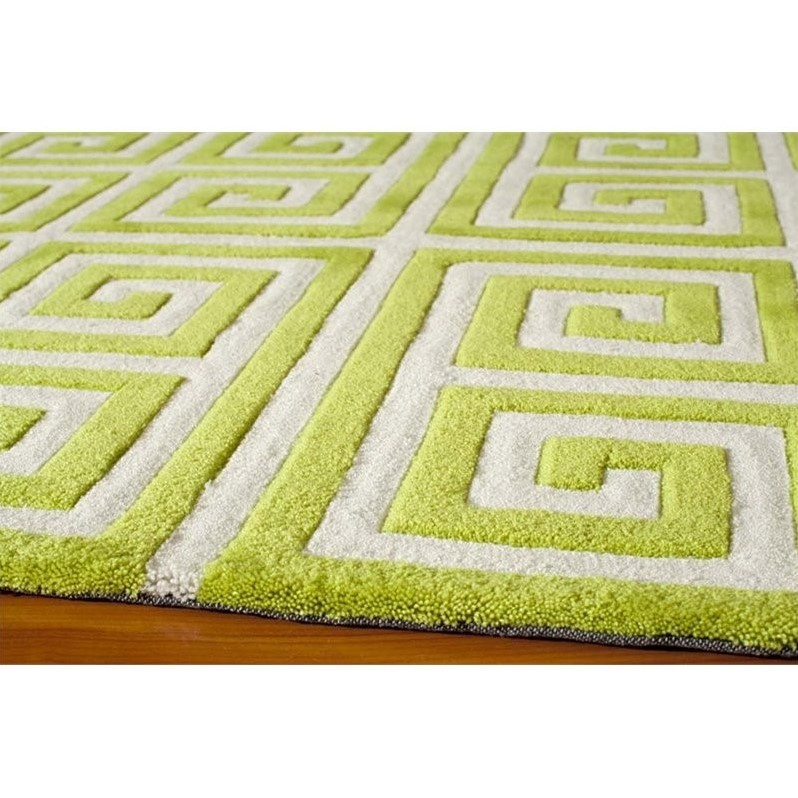 Momeni Bliss 3 6 Quot X 5 6 Quot Rug In Apple