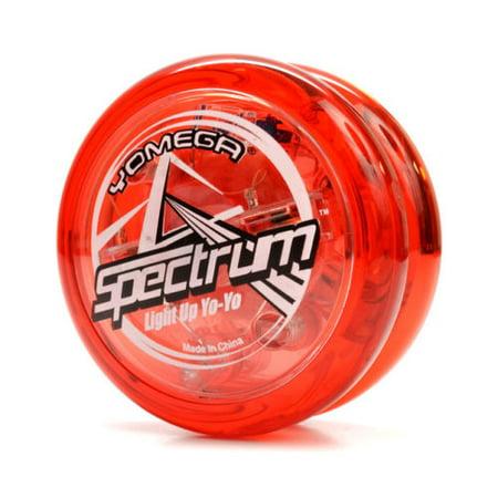 YOMEGA SPECTRUM RED LED LIGHT UP YO YO