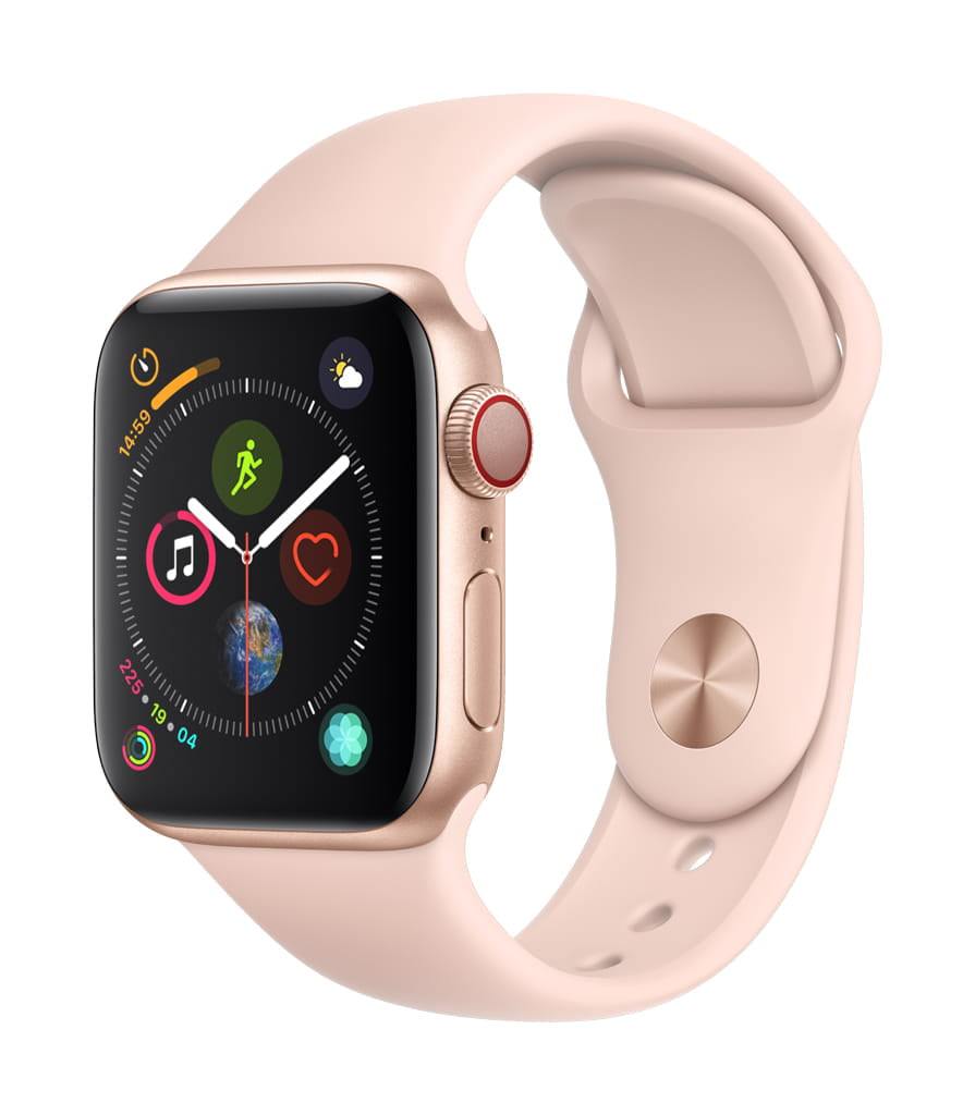 Apple�Watch Series�4 GPS�+�Cellular 40mm Gold Aluminum Case Pink Sand Sport Band by Apple