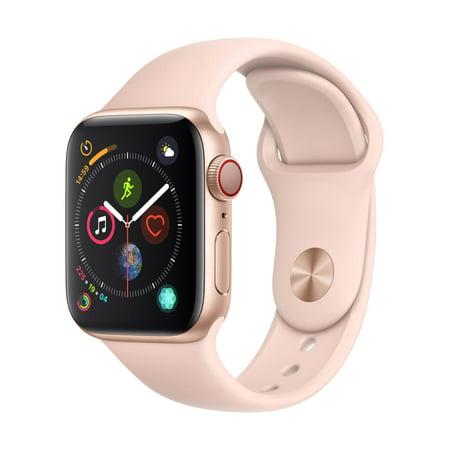 Refurbished Apple Watch Series 4 GPS + LTE - 40mm - Sport Band - Aluminum Case