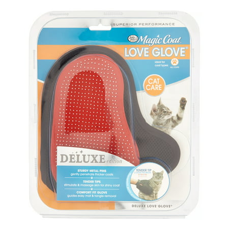 Four Paws Magic Coat Love Glove Cat Grooming Tool, 1 Ct - Cat Paw Gloves