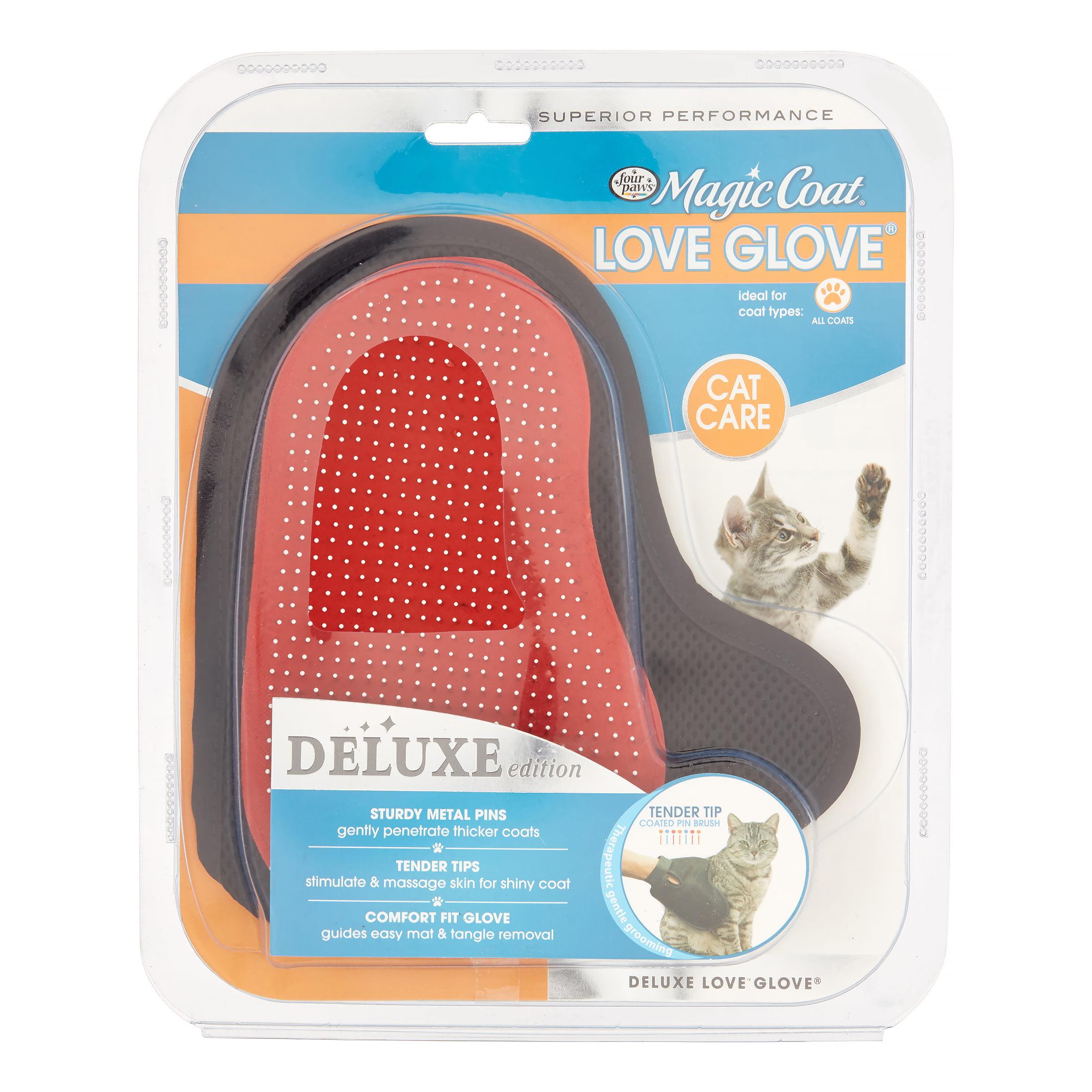 Four Paws Magic Coat Love Glove Cat Grooming Tool, 1 Ct