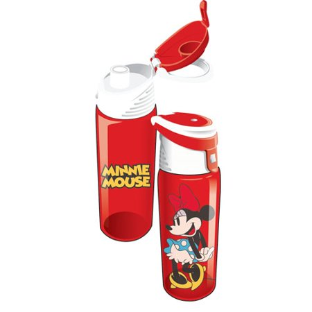 Disney Cute Minnie Mouse Flip Top Water - Minnie Mouse Water Bottle