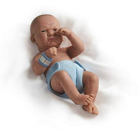 Jc Toys La Newborn 15 Quot First Day Real Boy Doll Walmart Com