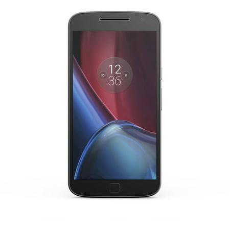 "Motorola Moto G⁴ Plus XT1644 64 GB Smartphone - 4G - 5.5"""" LCD 1920 x 1080 Full HD Touchscreen - Qualcomm -  00967NARTL"