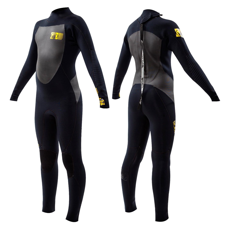 Body Glove Siroko Back Zip 3/2mm Wetsuit - 2XL - Black