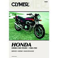 Clymer Repair/Service Manual CB900-1100 80-83 Fits 1983 Honda CB1100F